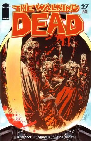 Cover for The Walking Dead #27 (2006)