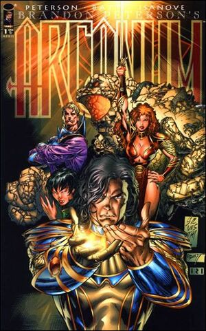 Cover for Arcanum #1 (1997)