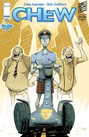 Cover for Chew #21 (2011)
