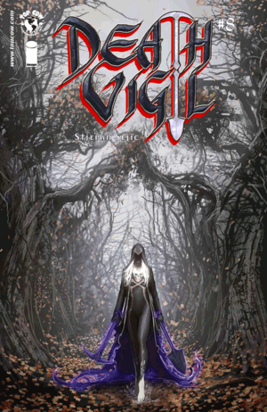 Cover for Death Vigil #8 (2015)