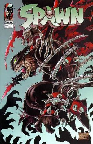 Cover for Spawn #40 (1996)