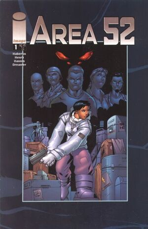 Cover for Area 52 #1 (2001)