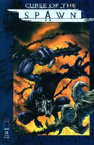 Cover for Curse of the Spawn #29 (1999)