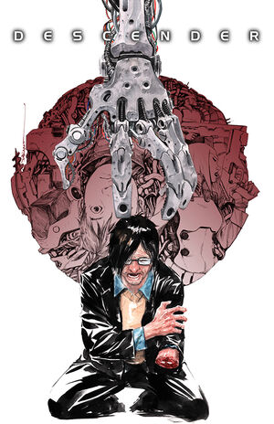 Cover for Descender #6 (2015)