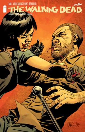 Cover for The Walking Dead #146 (2015)
