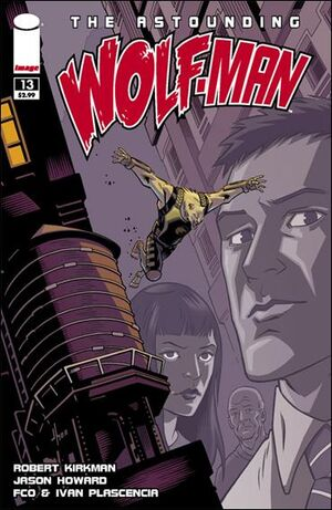 Cover for Astounding Wolf-Man #13 (2009)