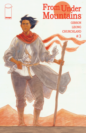 Cover for From Under Mountains #3 (2015)