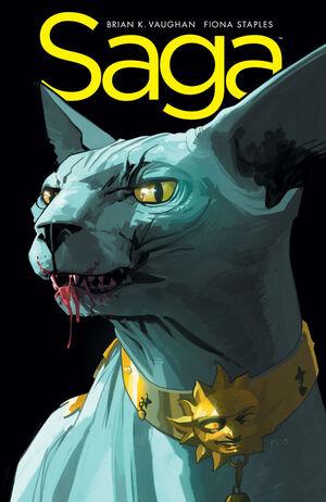 Cover for Saga #18 (2014)