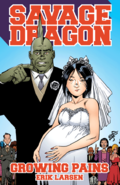 Savage Dragon Growing Pains TPB