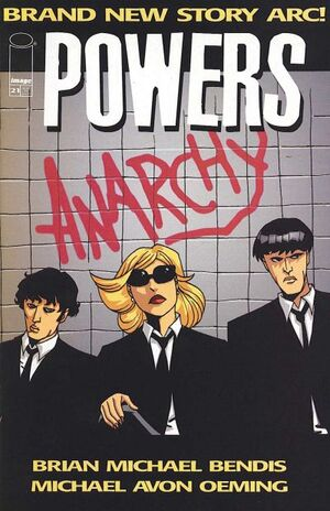 Cover for Powers #21 (2002)