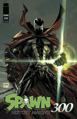 Cover for Spawn #300 (2019)