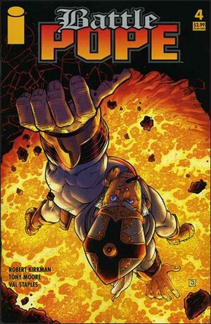 Cover for Battle Pope #4 (2005)