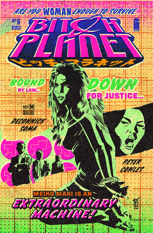 Cover for Bitch Planet #6 (2016)