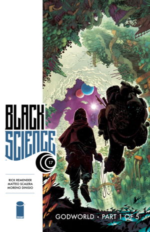 Cover for Black Science #17 (2015)