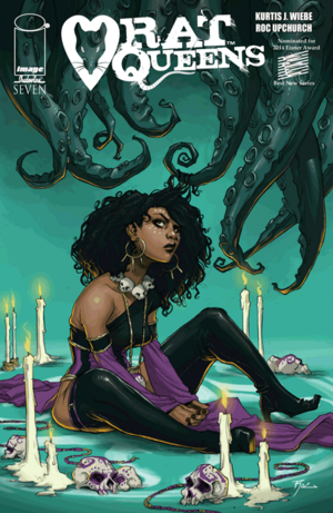 Cover for Rat Queens #7 (2014)