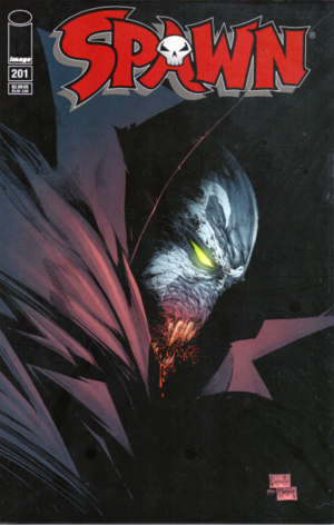Cover for Spawn #201 (2011)