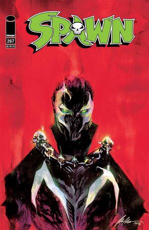 Cover for Spawn #267 (2016)