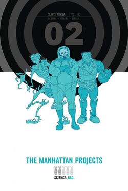 Cover for the The Manhattan Projects HC Vol 2 Trade Paperback