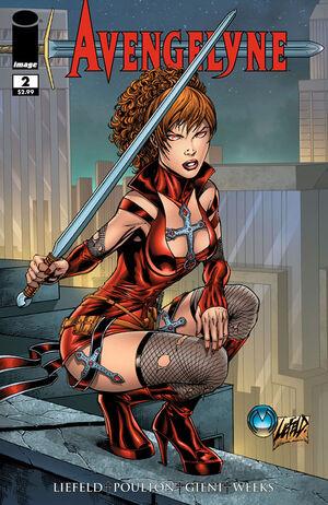 Cover for Avengelyne #2 (2011)