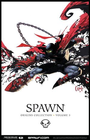 Cover for Spawn: Origins #5 (2010)