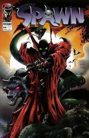 Cover for Spawn #44 (1996)