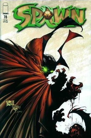 Cover for Spawn #78 (1998)