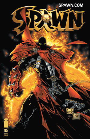 Cover for Spawn #95 (2000)