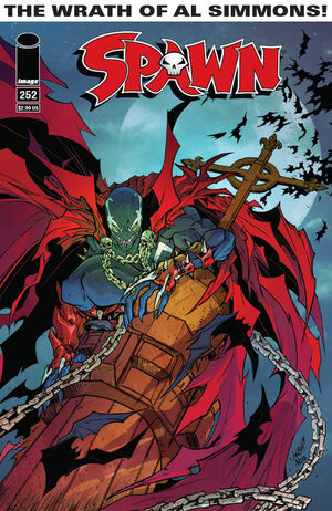 Cover for Spawn #252 (2015)