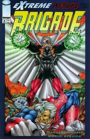 Cover for Brigade #8