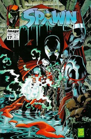 Cover for Spawn #17 (1994)