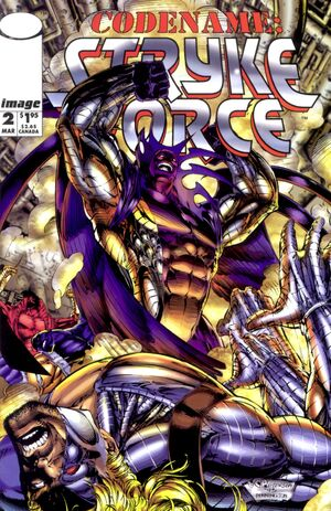 Cover for Codename: Stryke Force #2 (1994)