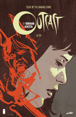 Cover for Outcast #17 (2016)
