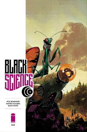 Cover for Black Science #8 (2014)
