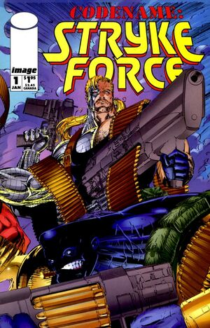 Cover for Codename Stryke Force #1 (1994)