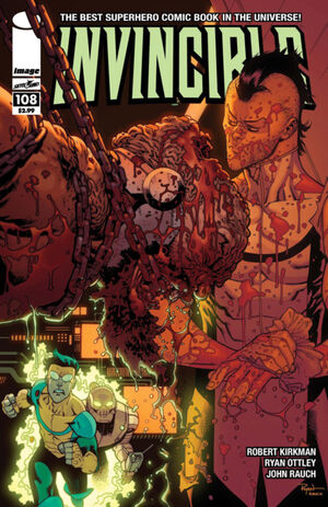 Cover for Invincible #108 (2014)