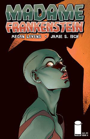 Cover for Madame Frankenstein #6 (2014)