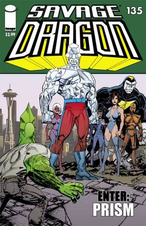 Cover for Savage Dragon #135 (2008)