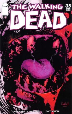 Cover for The Walking Dead #35
