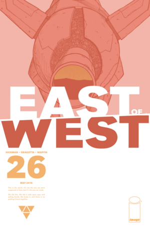 Cover for East of West #26 (2016)