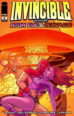 Cover for Invincible Presents: Atom Eve & Rex Splode #1 (2010)