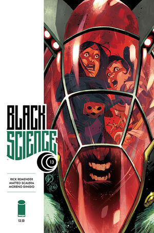 Cover for Black Science #13 (2015)