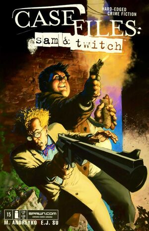 Cover for Case Files: Sam and Twitch #15 (2005)