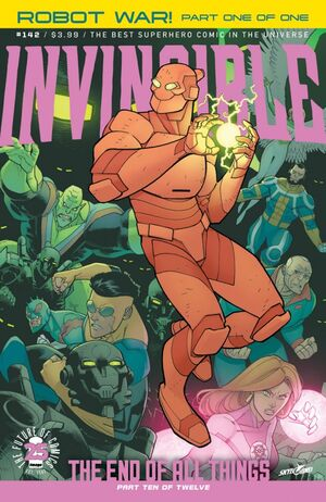 Cover for Invincible #142 (2017)