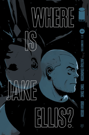 Cover for Where is Jake Ellis #5 (2015)