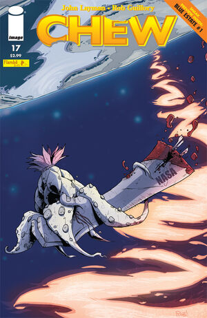 Cover for Chew #17 (2011)