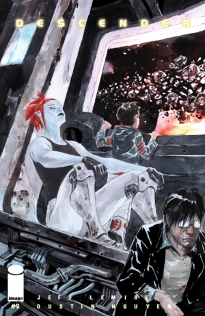 Cover for Descender #9 (2016)
