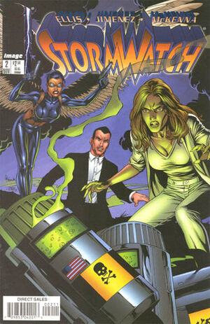 Cover for StormWatch #2 (1997)
