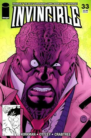 Cover for Invincible #33 (2006)