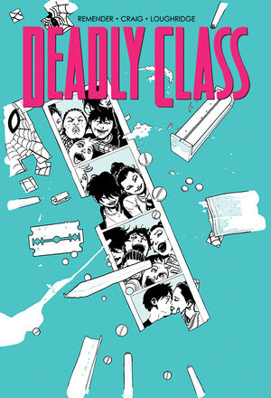 Cover for Deadly Class #16 (2015)