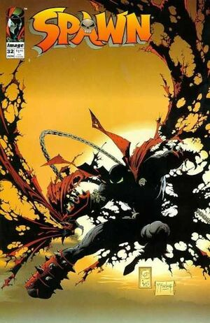 Cover for Spawn #32 (1995)